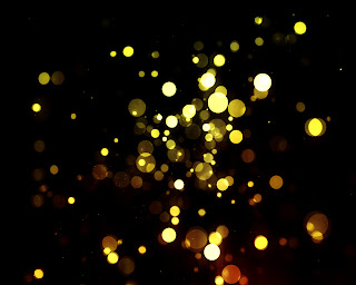 Bokeh Abstract Lights Dark Background Colorful Lights Wallpaper