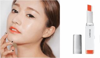 Model warna Warna Lipstik Orange kekinian