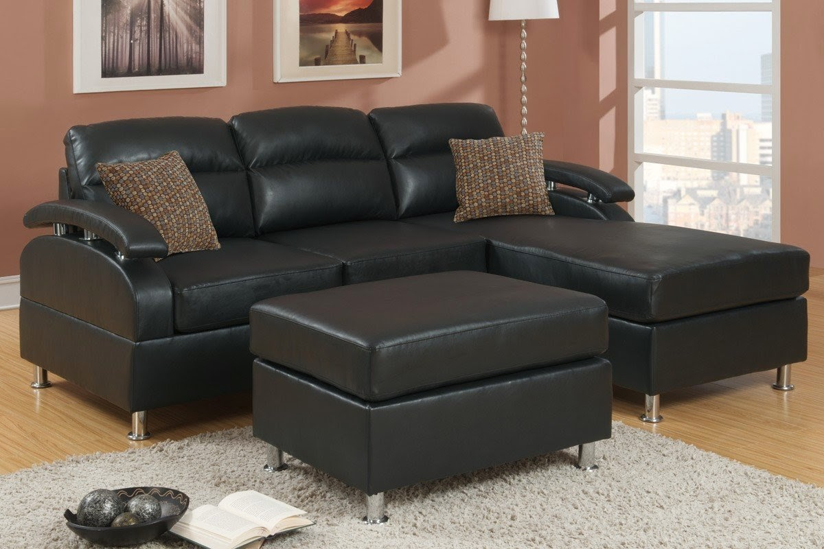Couch With Chaise Leather Couch With Chaise - 3 piece leather sectional sofa