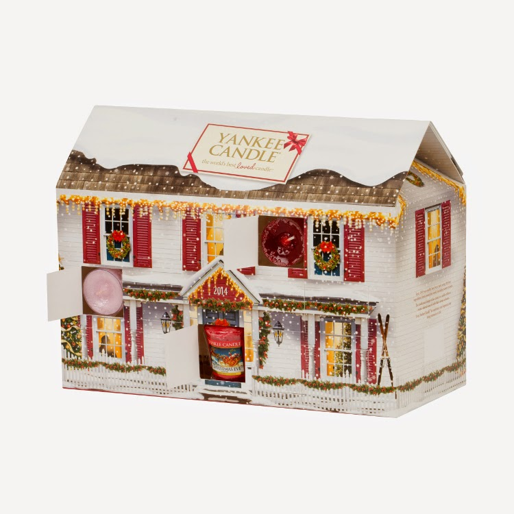 Yankee Candle Advent House 2014