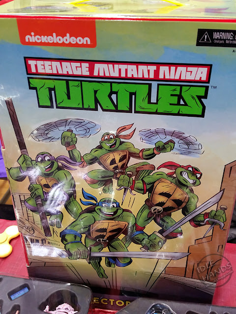 ToyConNJ NECA 2017 Convention Exclusive Teenage Mutant Ninja Turtles 30th Anniversary Cartoon Action Figure Box Set