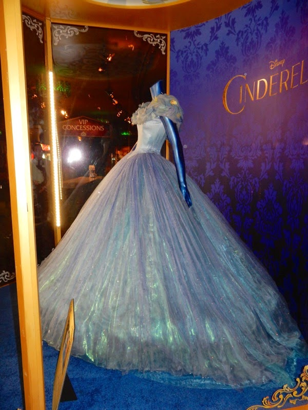 Original Lily James Cinderella movie ball gown