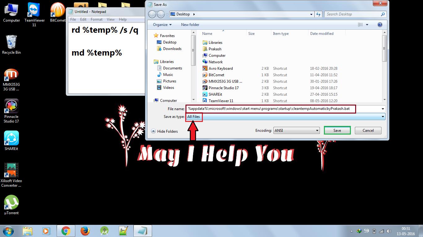 how to clear temp folder