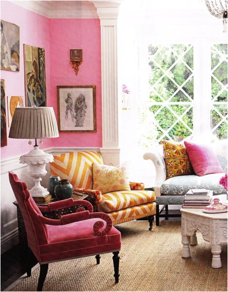 Romantic Style Living Rooms: Romantic Style Living Room Design Ideas