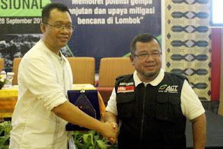 Gubernur NTB Apresiasi Tim ACT Dalam Penanganan Gempa Lombok