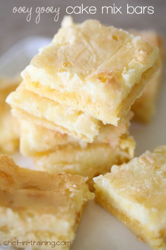 These bars are melt in your mouth delicious and super easy to make!