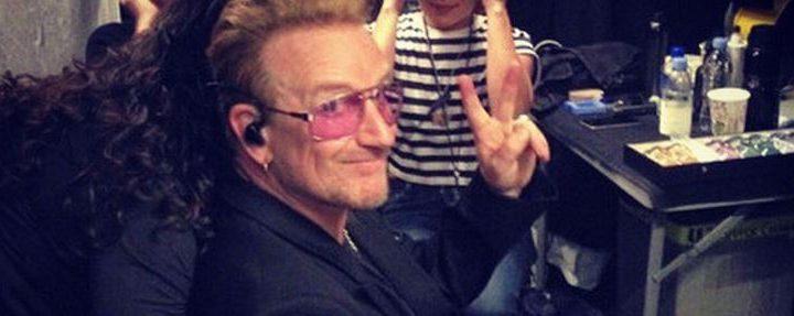 Bono revela las reglas que los integrantes de U2 tienen para trabajar