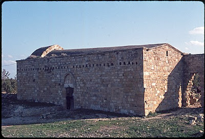 The church of the Monastery of St. Nicholas of the Cats, ca. 1973.