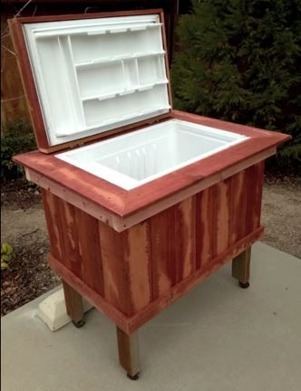DIY Old Fridge Ideas And Projects, Cooler From Broken Refrigerator