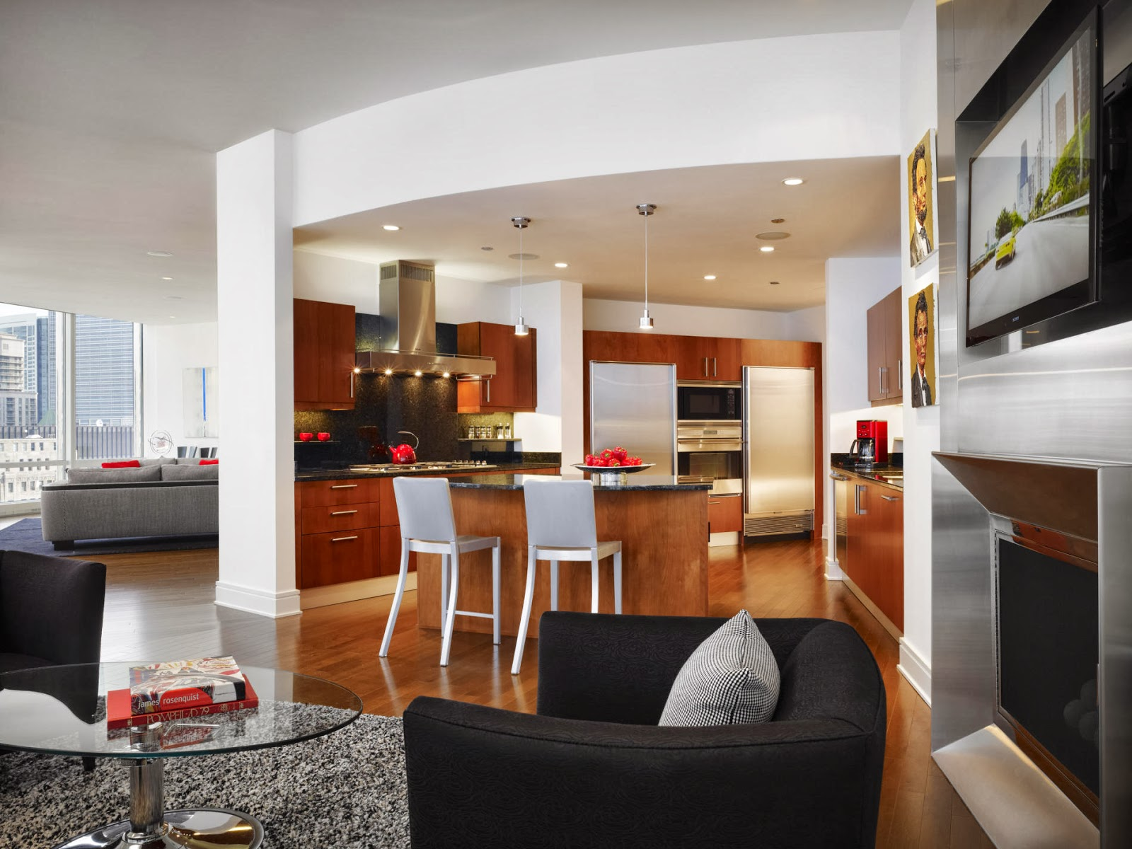 Contemporary Space Layout Design By John Robert Wiltgen Design
