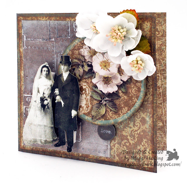 3-D Texture Fades Foundry Embossing Folder
