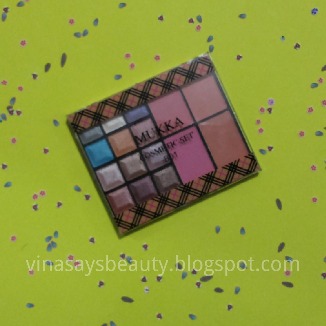 Review Mukka Eyeshadow Dan Blush On Code 801 Vina Says Beauty Eye Shadow 7016