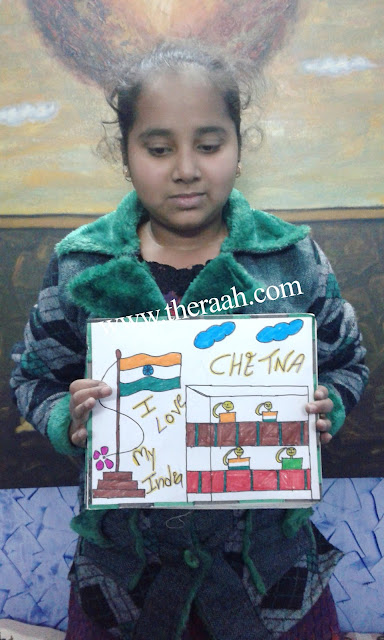 RAAH ORGANIZED REPUBLIC DAY CELEBRATION - 2016  RAAH NGO aim to Celebrate Republic Day is to let the Students Learn about the History of their Country and know the Importance of National Creative Minds and did Amazing Art Activities    Like and Subscribe JOIN US & SUPPORT US