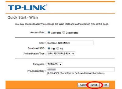 Cara Seting Modem TP-LINK, Modem Telkom Speedy (5)