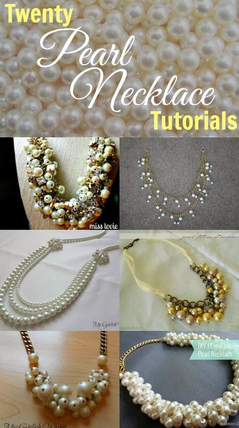 26e0e9251ffe Twenty Pearl Necklace Tutorials - My Girlish Whims