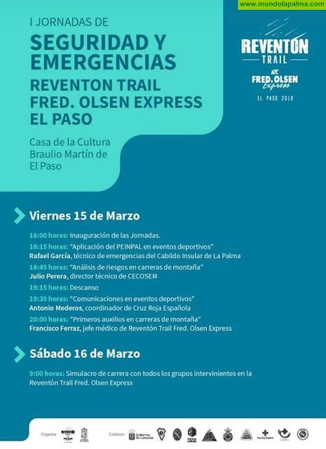 I Jornadas de Seguridad y Emergencias Reventon Trail Fred. Olsen Express El Paso