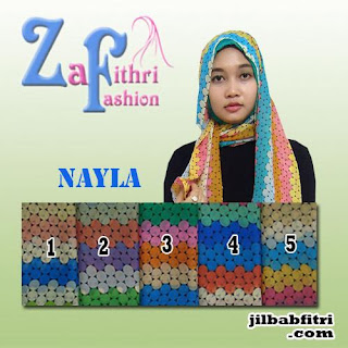 jilbab pashmina sifon nayla terbaru