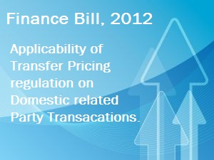 Transfer Pricing on Specified Domestic Related Party Transactions