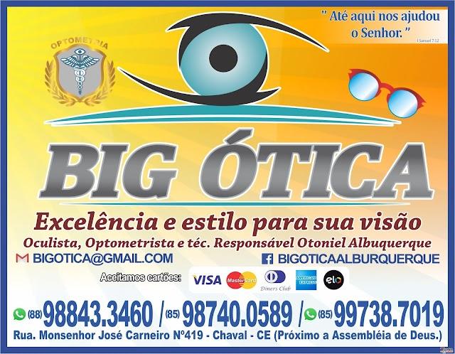 Big Ótica | Excelência e estilo para sua visão