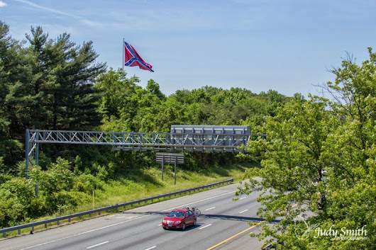 2nd I-95 Memorial Battle Flag