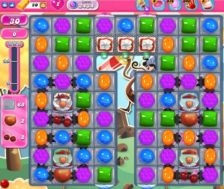 Candy Crush Saga level 2434