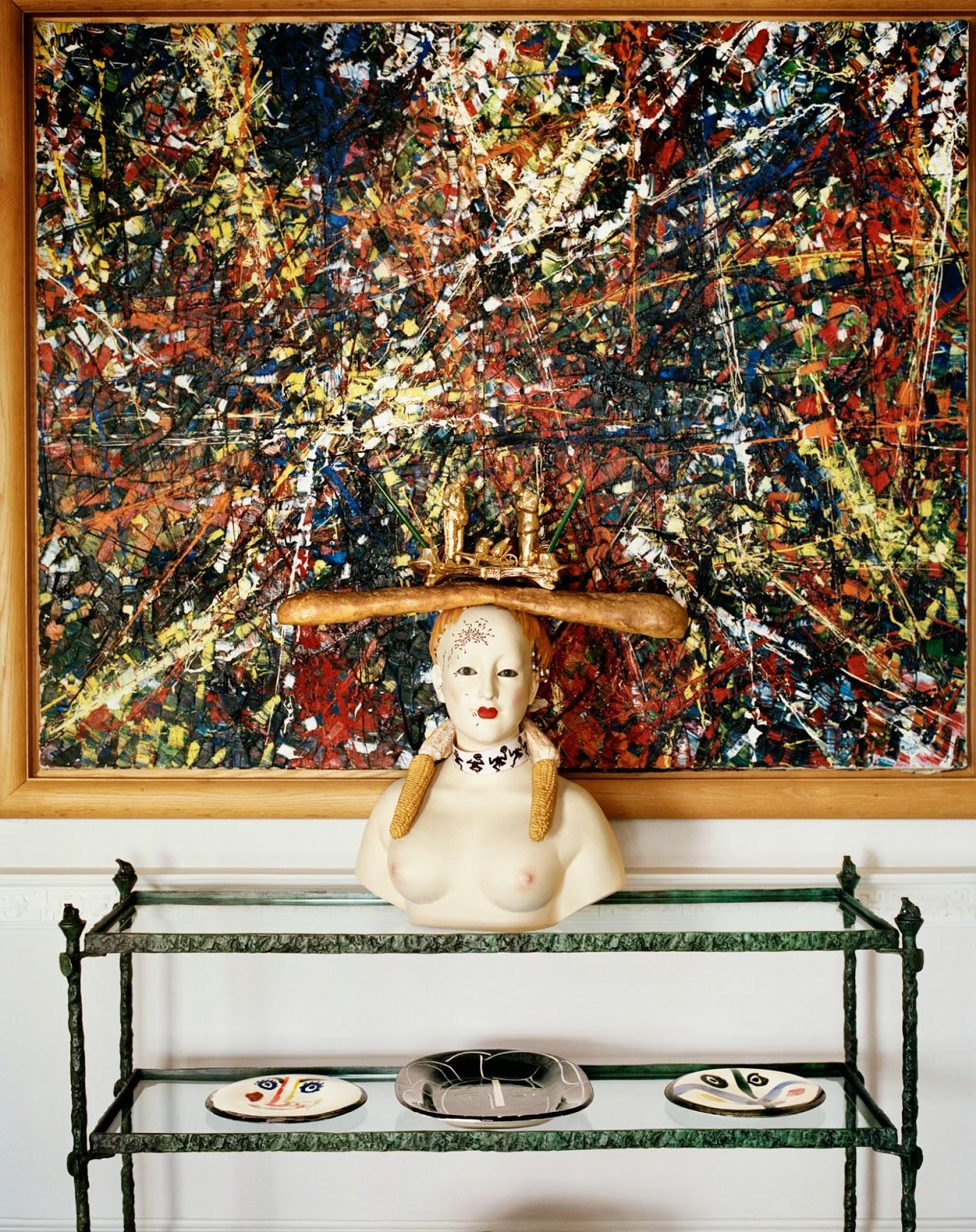 Terry De Gunzburg Manhattan Apartment By Jacques Grange