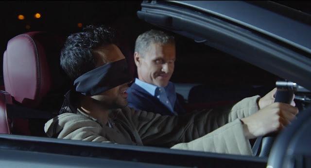 drive blindfolded