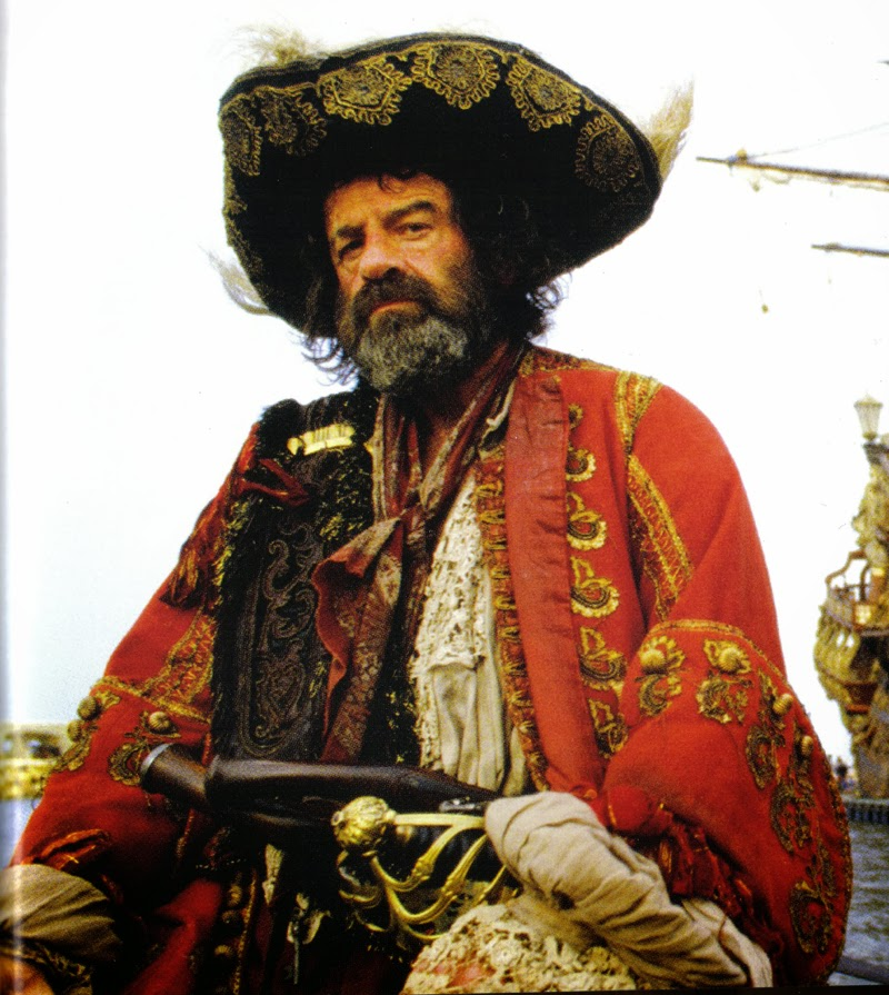 Walter Matthau Captain Red Pirates 1986