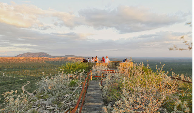 Eagle's Nest Restaurant at Vingerklip Lodge Namibia