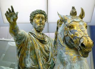 Marcus Aurelius,  Roman Emperor (Anno Domini 121-180)