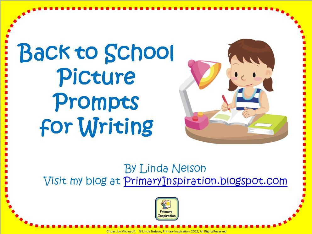 30 Back to School Writing Ideas
