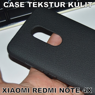 TPU-Jelly-Softcase-Leather-Texture-Case-Tekstur-Kulit-Xiaomi-Redmi-Note-4-Pro-4x-Snapdragon