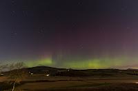 Zorza polarna sfotografowana 07.11.2017. Lokalizacja - Glenrothes, Szkocja. Credits: Mike Wragg