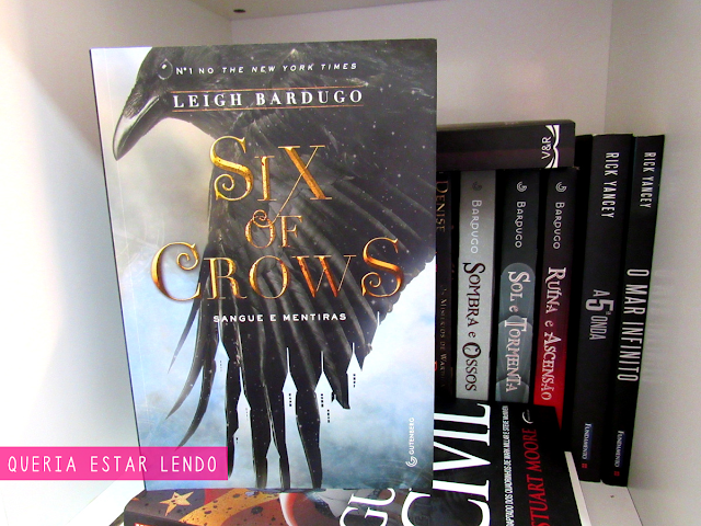 Li até a página 100 e... #8 - Six of Crows