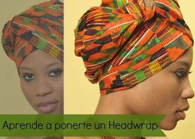 Como llevar un Headwrap Cultura Africana