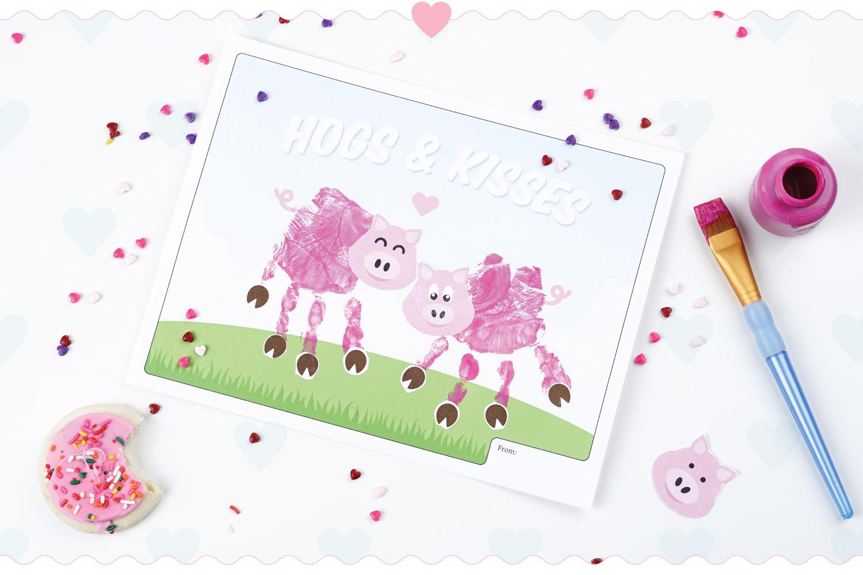 LeroyLime: Valentine\'s Day Handprint Craft