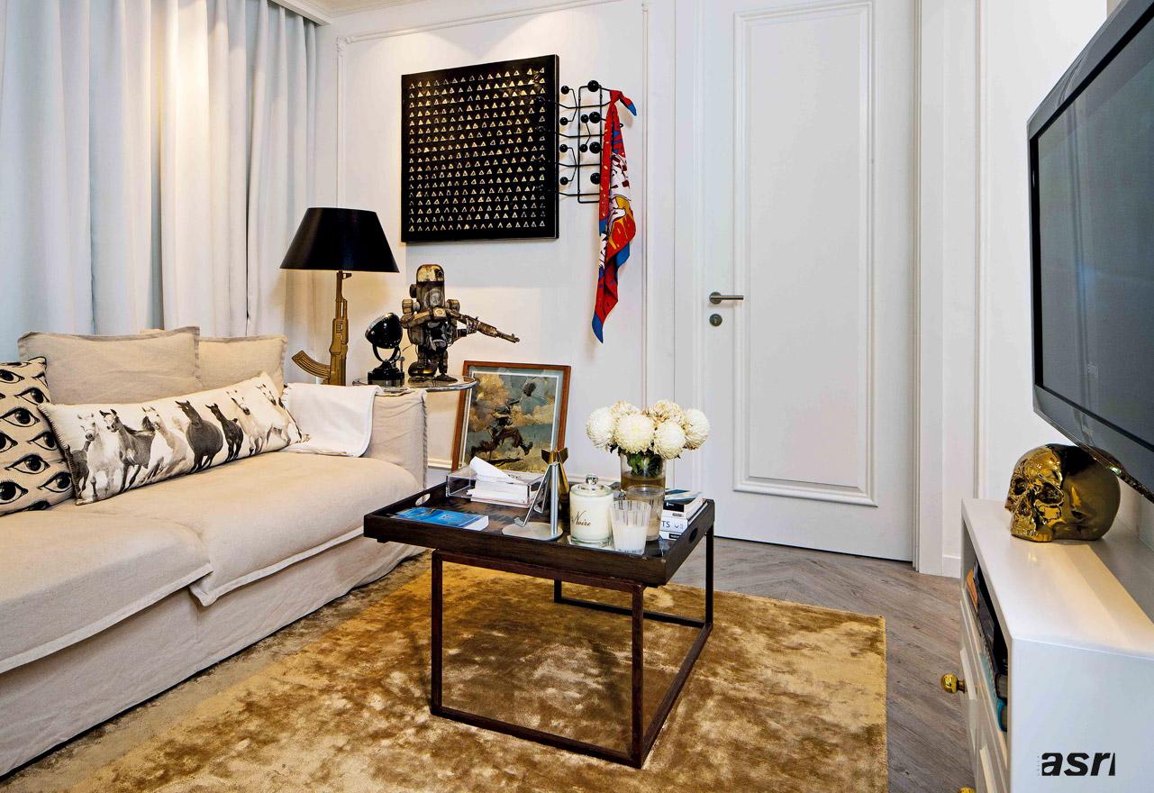 Apartment Interior Design Classic European Style