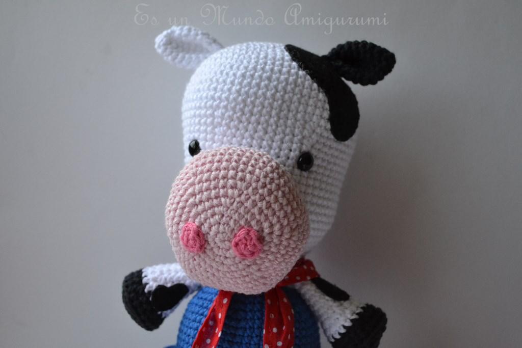 Amigurumi Vaca : Amigurumi crochet tools kalulu for