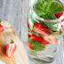 Strawberry Mint Detox Water