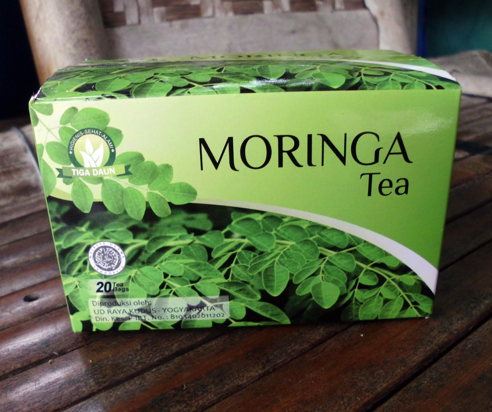 Hasil gambar untuk teh moringa
