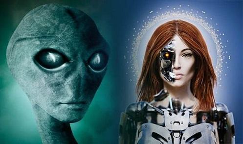 Uno scienziato pensa che gli alieni avanzati abbiano integrato i loro corpi con le macchine.