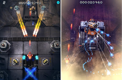Tampilan Game Sky Force Reloaded