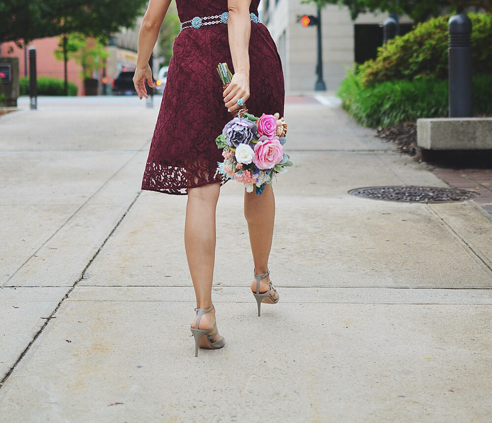 Casual wedding bouquet