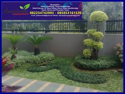 konsep taman minimalis (gardensmartindo)