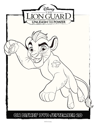The Lion Guard Coloring Sheet Kion