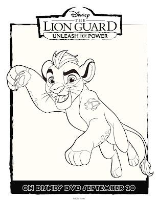 The Lion Guard Coloring Sheet Kion