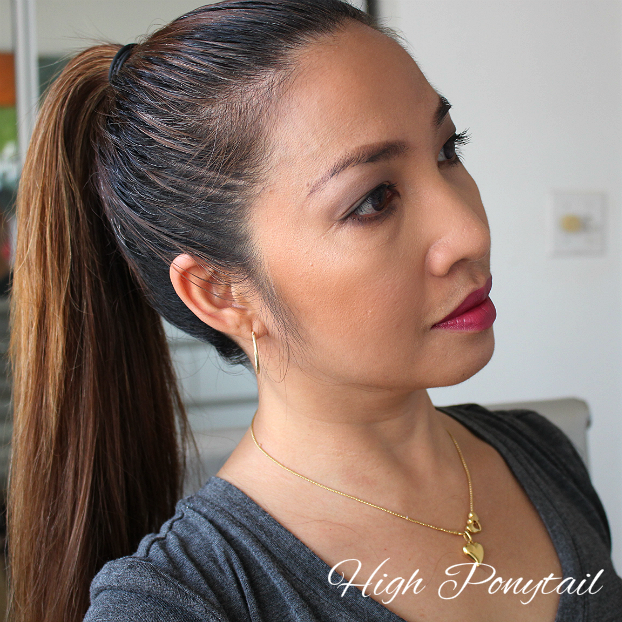 CHI, sleek ponytail, how to, tutorial, fall 2015 hairstyle trend, chi hairstyling iron review