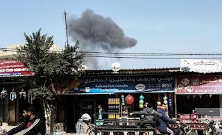 Israel Aircraft Attack Hamas Targets After Rocket Fired From Gaza