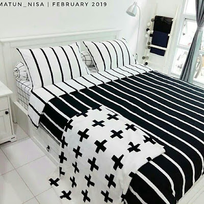 Kamar tidur nuansa putih