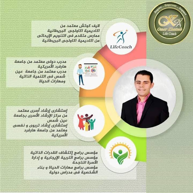 علم الإرشاد التربوي والعلاج السلوكي مع اللايف كوتش المعتمد دولياً عمر خطاب